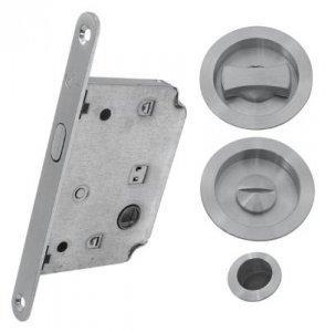 Комплект для раздвижных дверей RDA 4120 SC хром