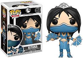 Фігурка Funko Pop Фанко Поп-Принцеса Кітана Kitana Mortal Kombat Смертельна Битва Мортал Комбат