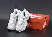 """Кроссовки женские Nike m2k Tekno """"Белые с серым"""" р. 36-40, фото 1"""
