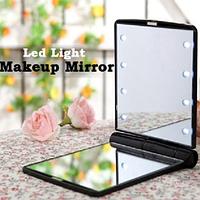 Мини-зеркало с подсветкой 8 Led