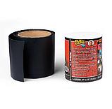 Стрічка скотч, водонепроникна посилена клейка стрічка скотч, Flex Tape 10 см, Чорна, фото 4