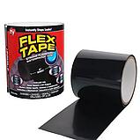 Стрічка скотч, водонепроникна посилена клейка стрічка скотч, Flex Tape 10 см, Чорна, фото 2