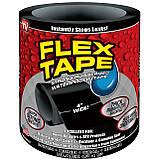 Лента скотч, водонепроницаемая усиленная клейкая лента скотч, Flex Tape 10 см, Черная, фото 8