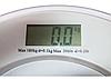 Круглые напольные стеклянные электронные весы для точного измерения собственного веса до 180 кг ACS 2003 А, фото 3