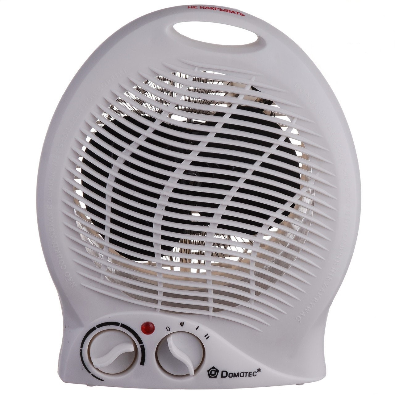 Бытовой электро обогреватель с регулятором | Тепловентилятор | Калорифер | Дуйка  Domotec MS-5902 (2000 W)
