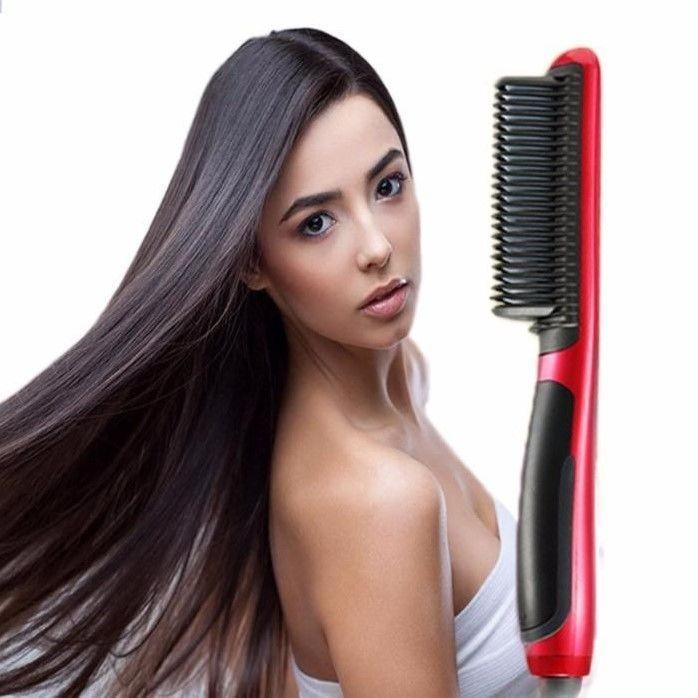 Электрическая расческа выпрямитель для укладки волос | Утюжок ASL-908 Hair Straightener (Реплика)
