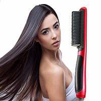 Электрическая расческа выпрямитель для укладки волос | Утюжок ASL-908 Hair Straightener (Реплика), фото 1