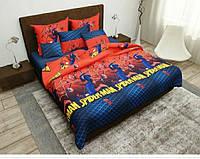 Комплект детского постельного белья Человек Паук, Бязь, полуторный