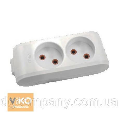 Колодка для удлинителя Viko multilet  на 2 гнезда