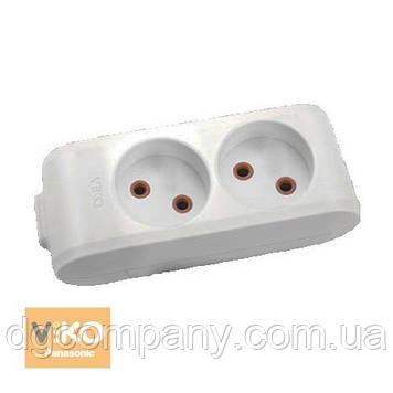 Колодка для подовжувача Viko multilet на 2 гнізда