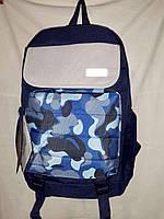 Городской рюкзак молодёжный унисекс Juxianzi Камуфляж синий