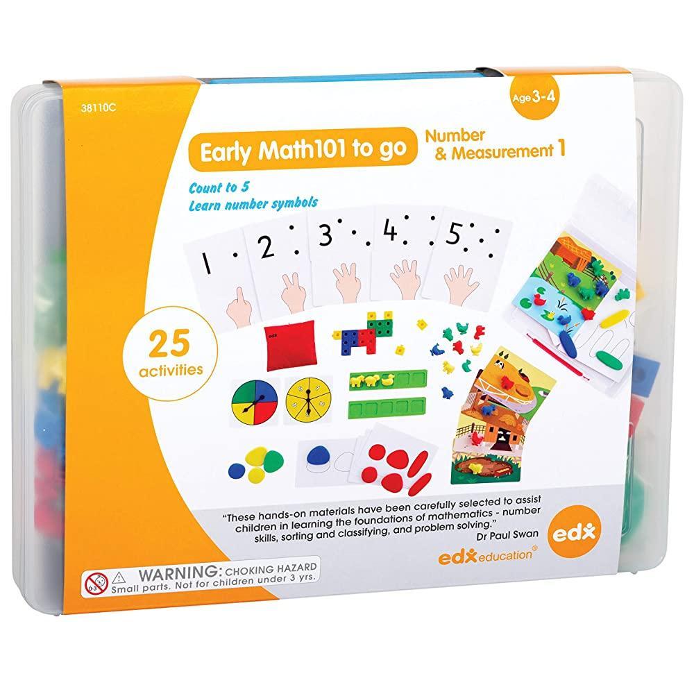 Великий арифметичний набір. Рівень 1 для дітей від 3 років EDX Education