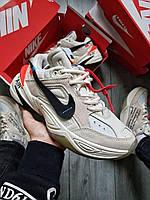 Мужские кроссовки Nike M2K Tekno x Off White Grey, фото 1