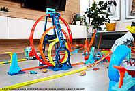 Хот Вилс Конструктор трасс Тройная петля Hot Wheels Triple Loop (GLC96), фото 6