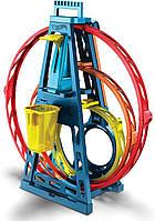 Хот Вилс Конструктор трасс Тройная петля Hot Wheels Triple Loop (GLC96), фото 3
