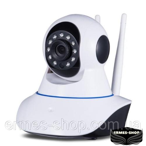 Поворотна IP камера відеоспостереження бездротова | WiFi Smart Net Самега Q5