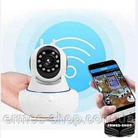 Поворотна IP камера відеоспостереження бездротова | WiFi Smart Net Самега Q5, фото 4