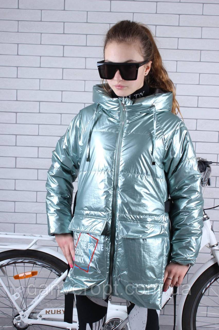 Куртка юниор стильная демисезонная на девочку размер 140-164 купить оптом со склада 7км Одесса