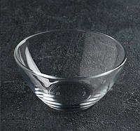 """Салатник 103 мм скляний """"Гладкий"""" (h60mm,d110mm) ОСБ 1 шт., фото 1"""