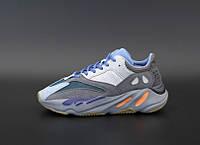 Женские кроссовки Adidas YEEZY 700 серые