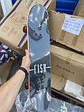 Скейт деревянный, Скейтборд, натуральный канадский клен, для трюков, Fish Skateboards,Красный Череп, премиум!, фото 3