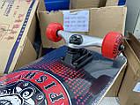 Скейт деревянный, Скейтборд, натуральный канадский клен, для трюков, Fish Skateboards,Красный Череп, премиум!, фото 4