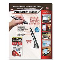 Беспроводная оптическая мышь-ручка POCKET WIRELESS MOUSE, Стилус