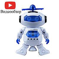 Музыкальный танцующий светящийся робот Dancing Robot (99444-2) White