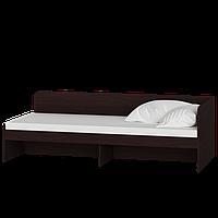 Кровать односпальная Соната 800 (Венге темный)
