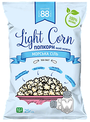 Здоровый попкорн Light Corn Морская Соль (20 грамм)