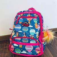 Школьный рюкзак для первоклассника с ортопедической спинкой Favor для девочки ранец 1-4 класс