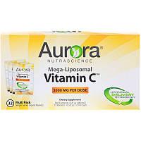 Мега-липосомальный вітамін С, 3000 мг, 32 порційних упаковок, 15 мл, фото 1