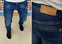 Мужские джинсы Hand Made H0818 светло-синие