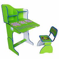 Парта и стульчик (Зеленый)