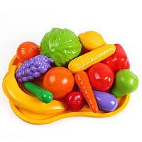 """Іграшка """"Набір фруктів та овочів ТехноК"""""""
