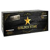Сигаретные Гильзы Golden Star SLIM 500 шт + фирменная машинка для набивки сигарет Слим, фото 4