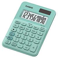 Калькулятор настольный 10-разрядный Casio MS-7UC-GN-S-EC светло-зеленый