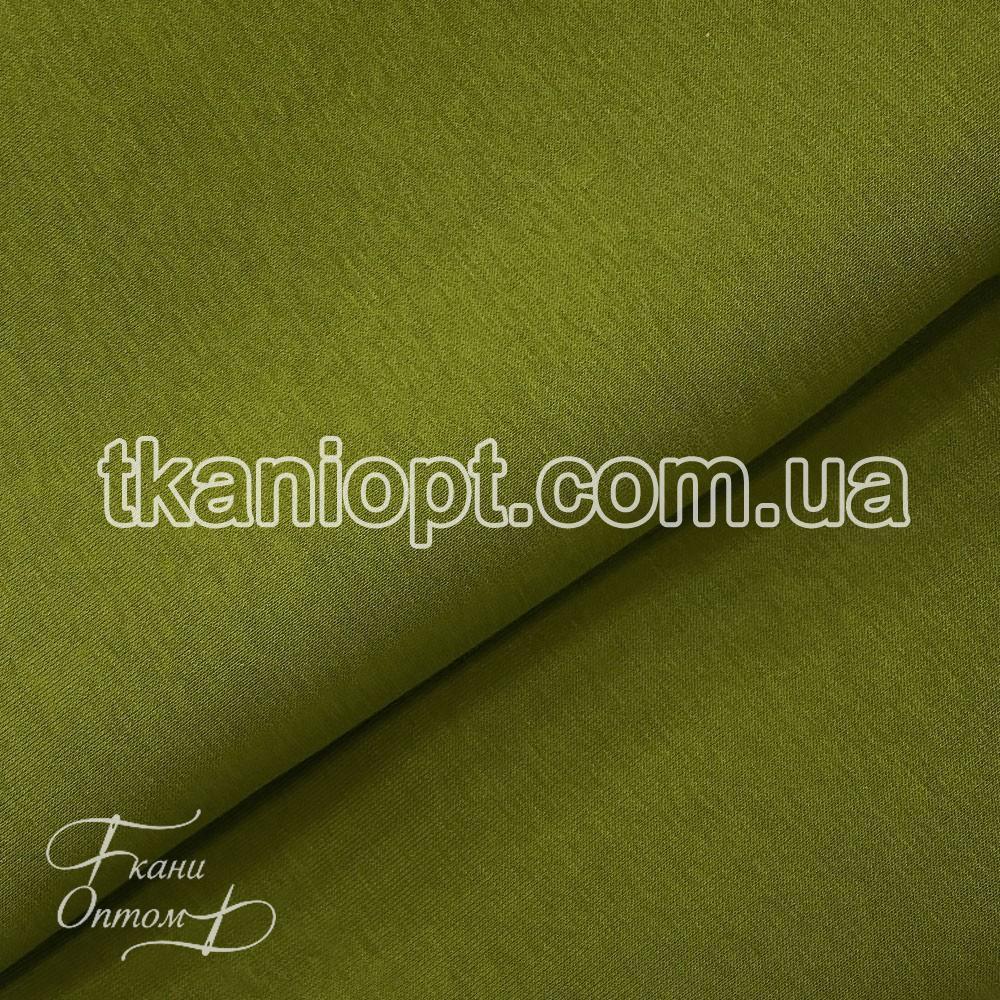 Ткань Трехнитка с начесом Турция (оливка)