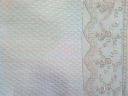 ARYA Lace Lydia Молочний + покривало євро