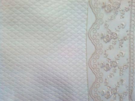 ARYA Lace Lydia Молочний + покривало євро, фото 2