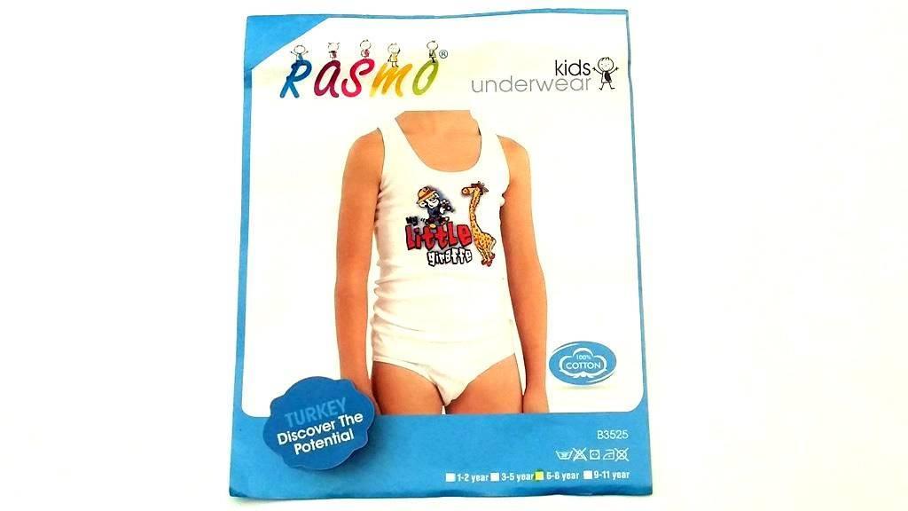Комплект дитячий трусики і майка Kids Fashion (хлопчик) 2-4 роки 104см, 1