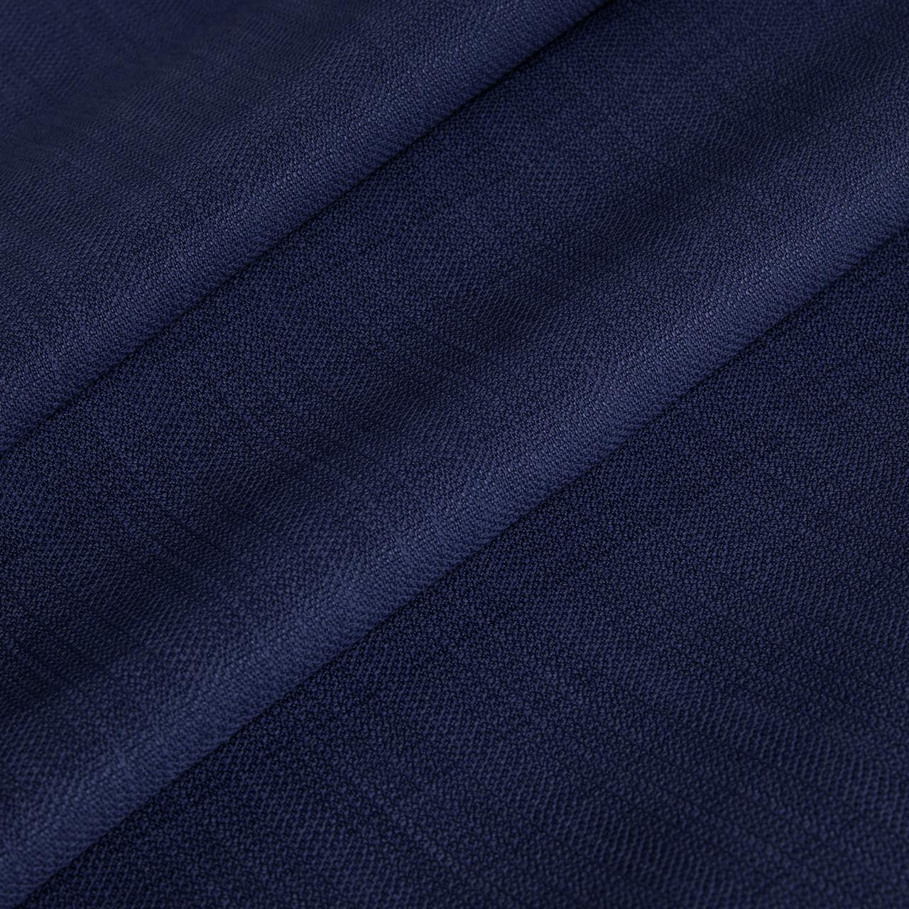 Фактурная рогожка однотонная синяя 280см 87823v15