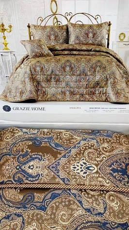 Покрывало Grazie home Angelina Vizion коричневый, 260*270, фото 2