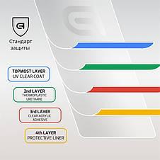 Захисне скло Armorstandart для Samsung Galaxy S10 SM-G973 Black Full Glue (ARM54339-GFG-BK), фото 3