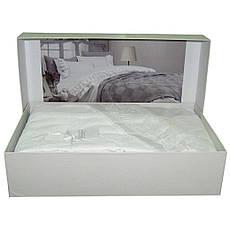 Постельное белье с покрывалом Gelin Home  BUSRA двуспальный - евро, персиковый, фото 3