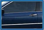 BMW 3 серія E-46 1998-2006 рр. Окантовка вікон (нерж.)