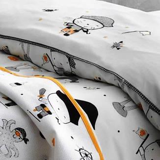 Постельное белье Tivolyo Home  PIRATES с вышивкой детское, фото 2
