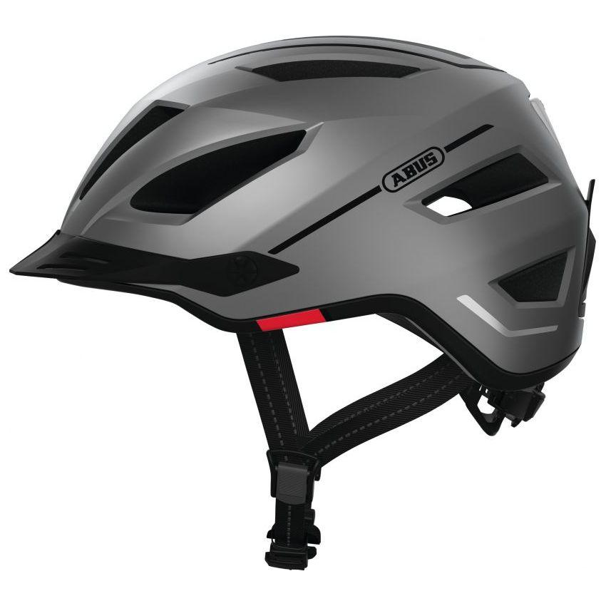 Шолом велосипедний ABUS PEDELEC 2.0 L 56-62 Silver Edition