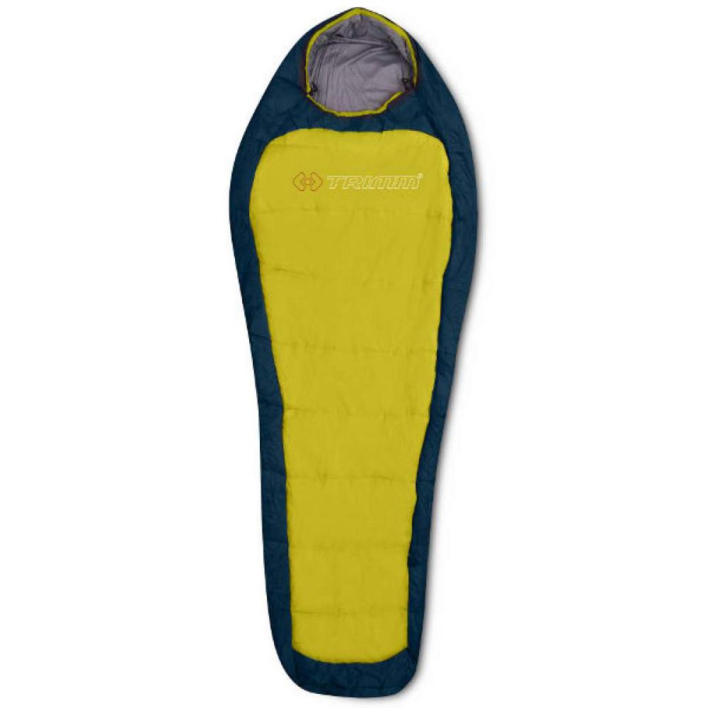 Спальний мішок Trimm Impact 195 L Blue-Yellow