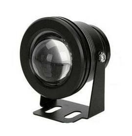 Светодиодный грунтовой круглый прожектор 10W 3000K  IP65  Код.59765